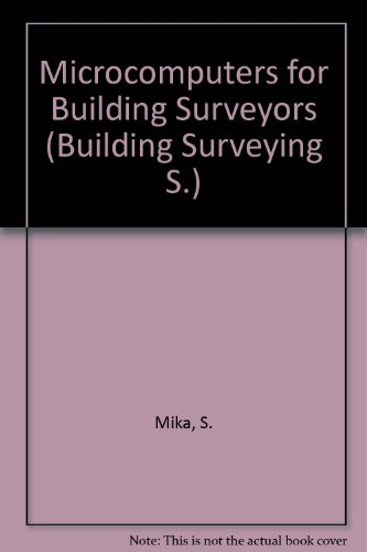 9780854063093: Microcomputers for Building Surveyors
