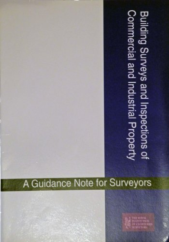 Building Surveys and Inspections of Commercial and: Royal Institution of