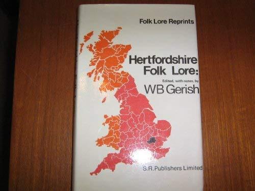 9780854095827: Hertfordshire Folklore (Folklore Reprints)