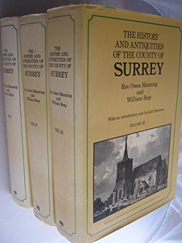 9780854096039: History and Antiquities of the County of Surrey (Classical County Histories)