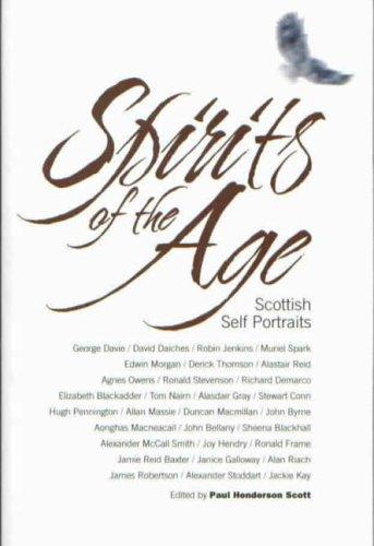 9780854110872: Spirits of the Age: Scottish Self Portraits