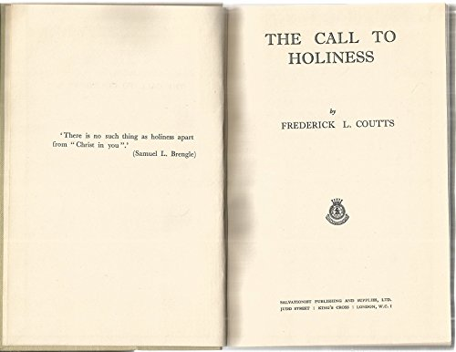 9780854121373: Call to Holiness