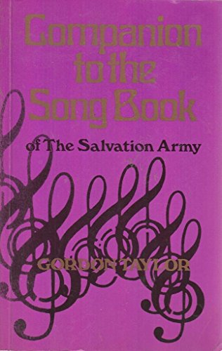 9780854125319: Companion to the Song Book of The Salvation Army
