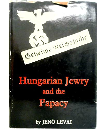 9780854140008: Hungarian Jewry and the Papacy