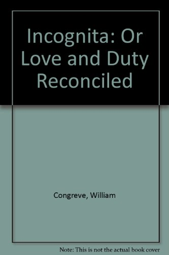 9780854175888: Incognita: Or Love and Duty Reconciled