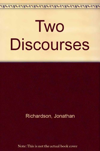 9780854176489: Two Discourses
