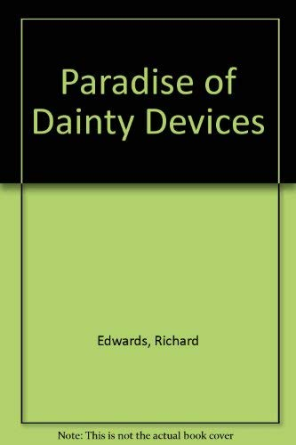 9780854176977: Paradise of Dainty Devices