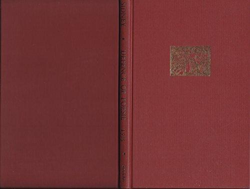 The Defence of Poesie 1595: Sidney, Sir Philip