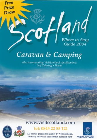 9780854196654: Scotland: Where to Stay Caravan & Camping (AA Scottish Tourist Board Accommodation Guides)