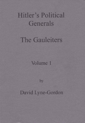 9780854200542: Hitler's Political Generals: Gauleiters v. 1