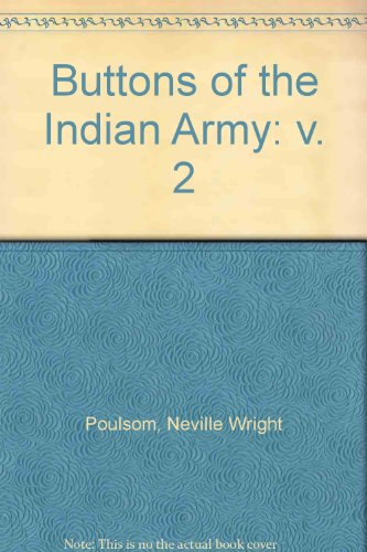 9780854201648: Buttons of the Indian Army: v. 2