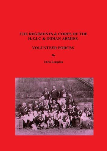 9780854203635: The Regiments & Corps of the H.E.I.C & Indian Armies Volunteer Forces