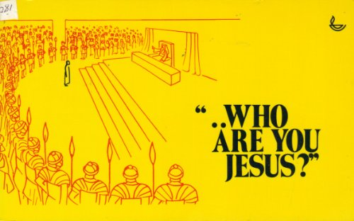 Who Are You Jesus? (0854214097) by Annie Vallotton