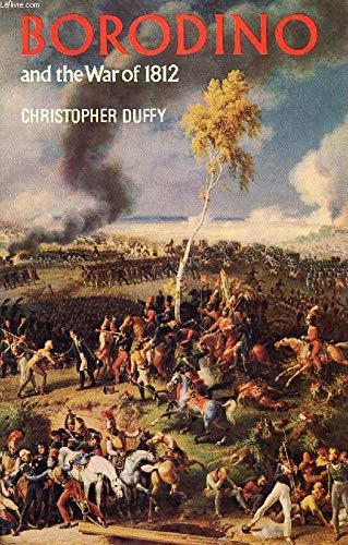 9780854220779: Borodino and the War of 1812
