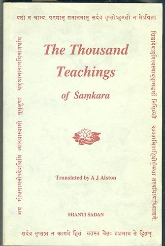 9780854240418: The Thousand Teachings (Upadesa Sahasri) of Samkara