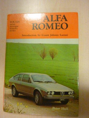 9780854291984: Alfa Romeo ([Foulis mini marque history series])