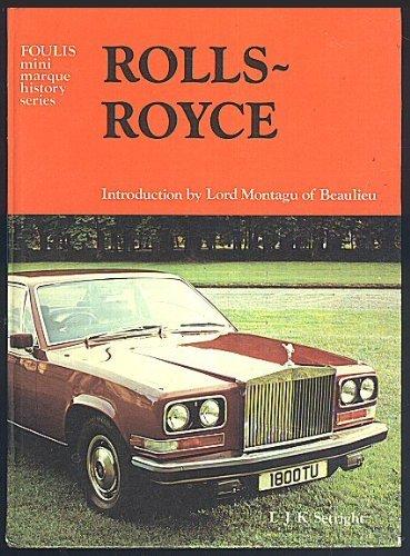 9780854292004: Rolls-Royce ([Foulis mini marque history series])