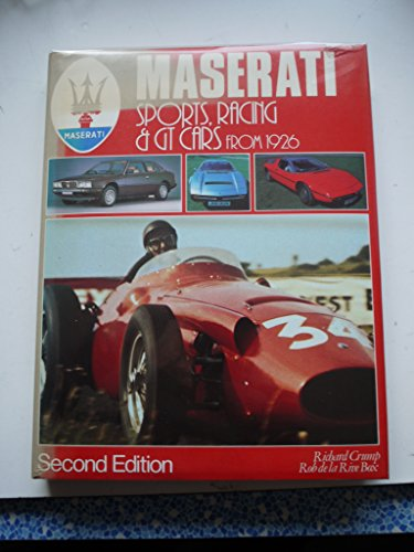 9780854293025: Maserati: Sports, Racing and GT Cars from 1926 (A Foulis motoring book)