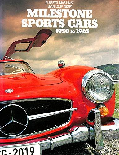 9780854293865: Milestone Sports Cars, 1950-65 (A Foulis motoring book)