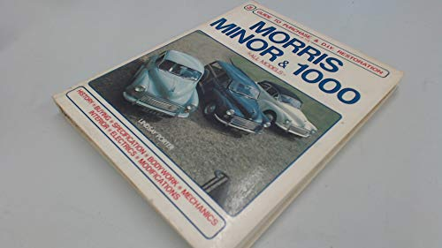 9780854294428: Morris Minor & 1000: Guide to Purchase & D.I.Y. Restoration/F442 (Foulis Motoring Book, F442)