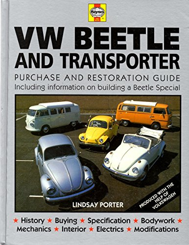 9780854294749: Volkswagen Beetle and Transporter: Guide to Purchase and Do-it-yourself Restoration (Foulis Motoring Book)
