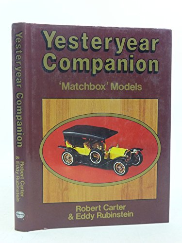 9780854296804: Yesteryear Companion: Matchbox Models