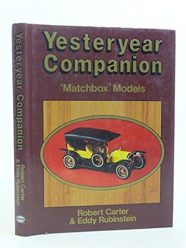 9780854296804: Yesteryear Companion: Matchbox Models
