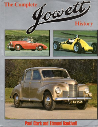 The Complete Jowett History: Clark, Paul, and