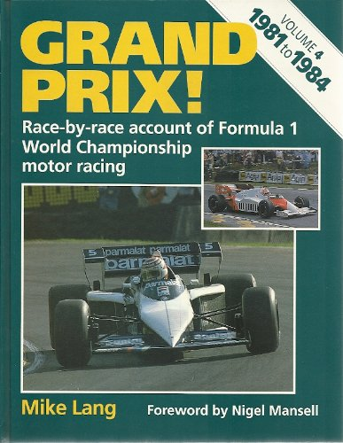9780854297337: Grand Prix Race by Race Account of F-1 World Champ