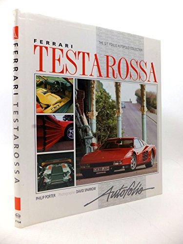 9780854297344: Ferrari Testarossa Autofolio (Autofolio Series)