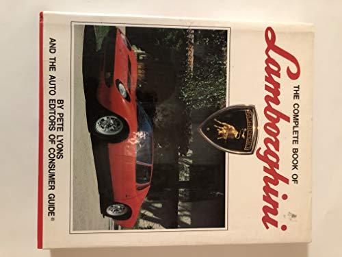 9780854297351: The Complete Book of Lamborghini