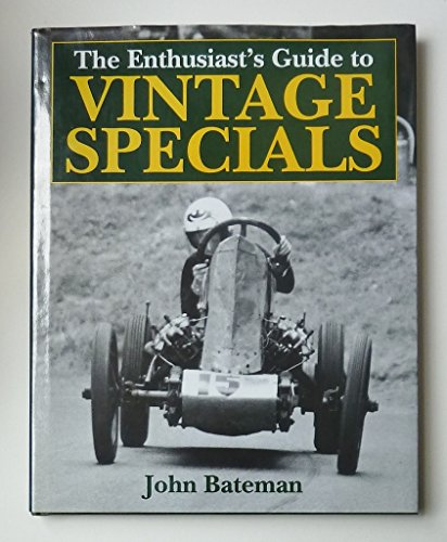 9780854297948: Enthusiasts Guide to Vintage Specials