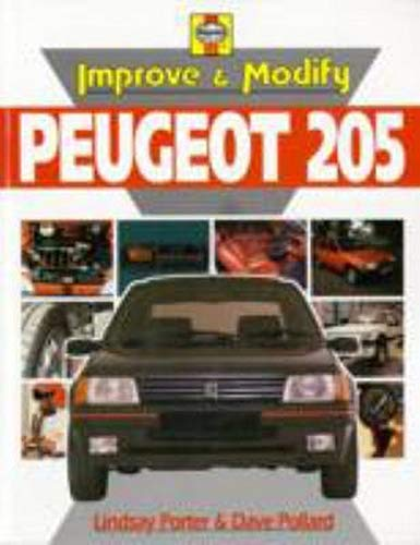 9780854298334: Improve and Modify Peugeot 205