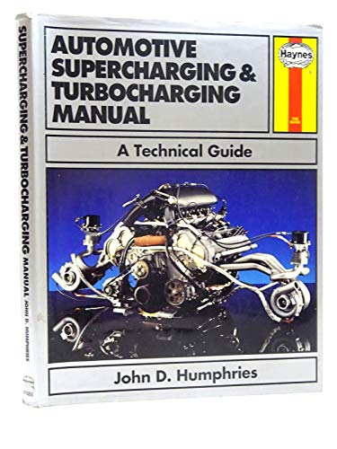 9780854298808: Automotive Supercharging and Turbocharging Manual: A Technical Guide