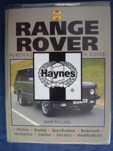 9780854299683: Range Rover: Purchase and Restoration Guide