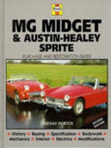 MG Midget & Austin-Healey Sprite: Guide to Purchase & D.I.Y. Restoration: Porter, Lindsay
