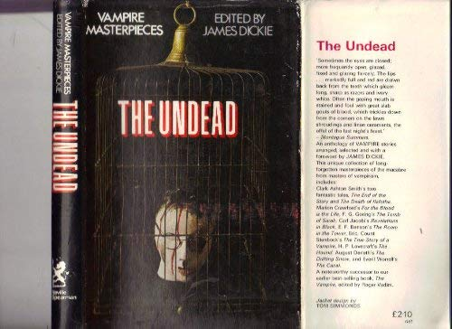 9780854351213: The Undead. Vampire Masterpieces
