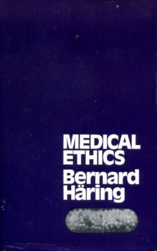 9780854390878: Medical Ethics