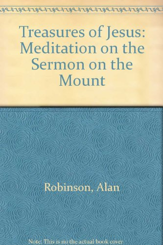 9780854394661: The Treasures of Jesus: A Meditation on the Sermon on the Mount