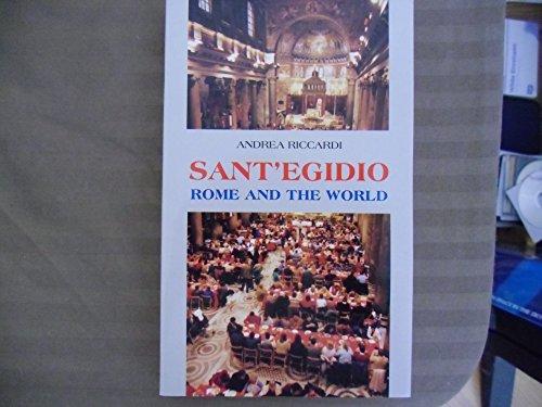 9780854395590: Sant 'Egidio, Rome and the World