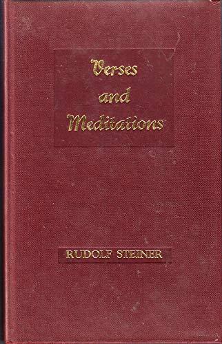 9780854401192: Verses and Meditations