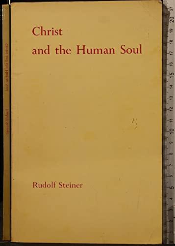 9780854402649: Christ and the Human Soul