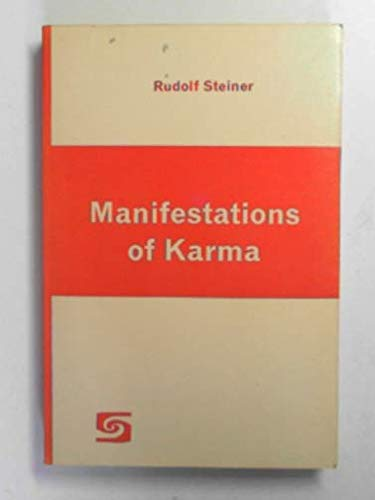 9780854403059: Manifestations of Karma