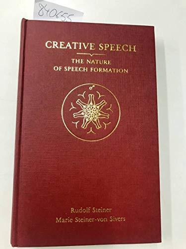 9780854403226: Creative Speech: Nature of Speech Formation