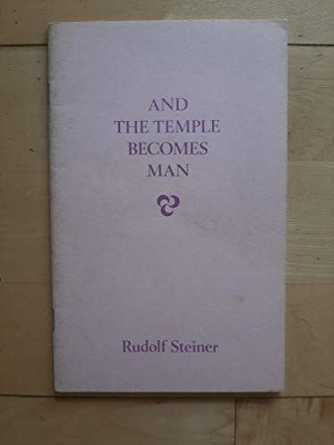 9780854403370: And the Temple Becomes Man