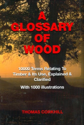 9780854420100: A Glossary of Wood