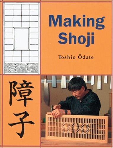 9780854420902: Making Shoji