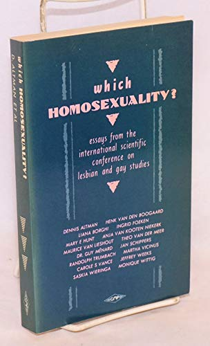 9780854490912: Which Homosexuality?