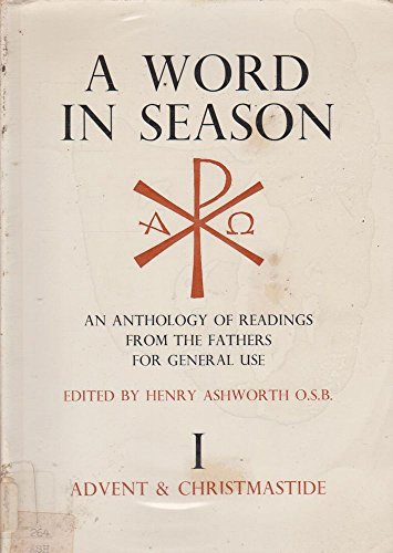 9780854520985: Word in Season: An Anthology of Readings from the Fathers