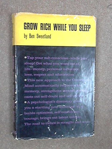 9780854540068: Grow Rich While You Sleep